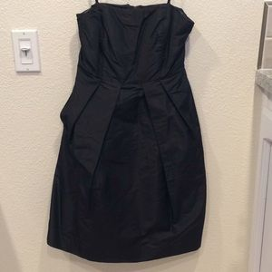 JCrew Strapless Dress with Hidden Pockets